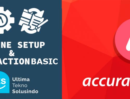 Setup Awal & Transaksi Accurate Online (Basic)